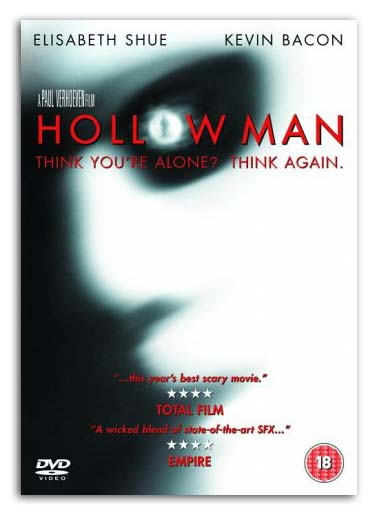 Hollow Man DVD Cover