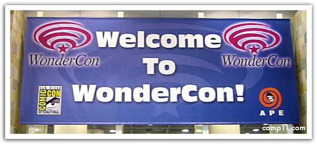 Wondercon Banner