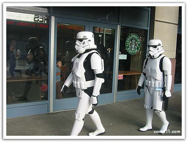 Troopers and Starbucks